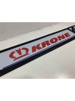 """Брызговик резиновый на задний бампер тисненый """"KRONE"""" 1 сорт 2400х350мм"""