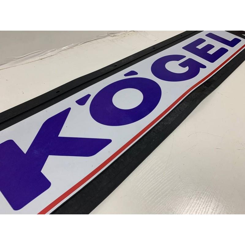 "Брызговик резиновый на задний бампер тисненый ""KOGEL"" 1 сорт 2400х350мм"