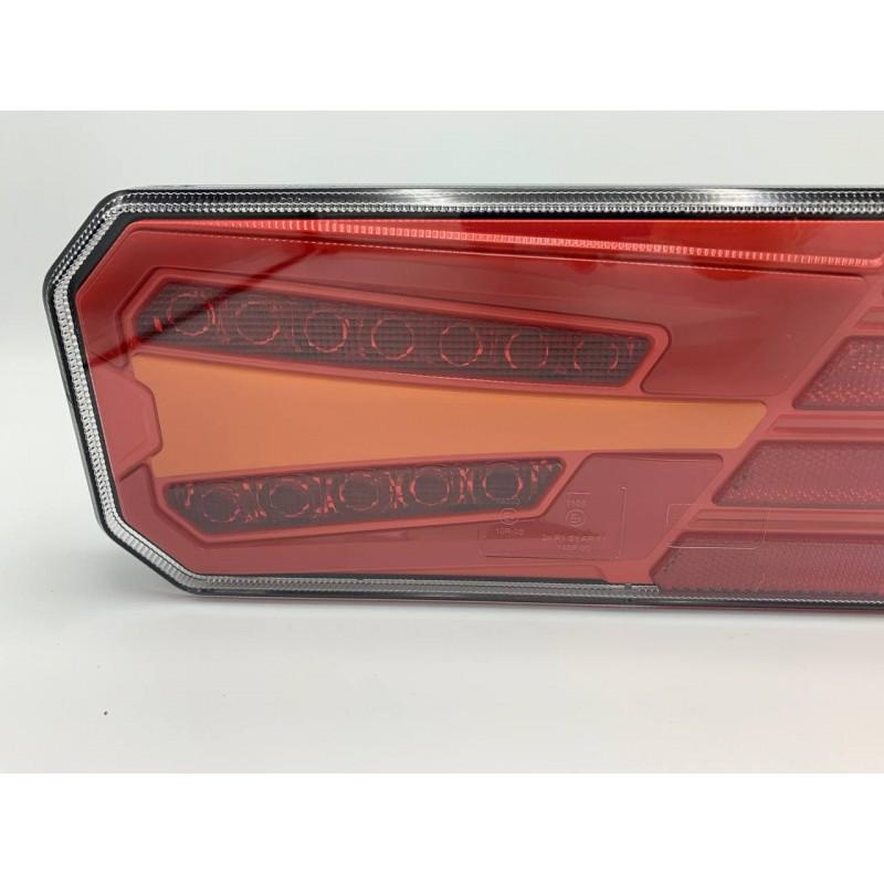 Универсальный задний фонарь с динамическим индикатором поворота LED+НЕОН 10-30V L