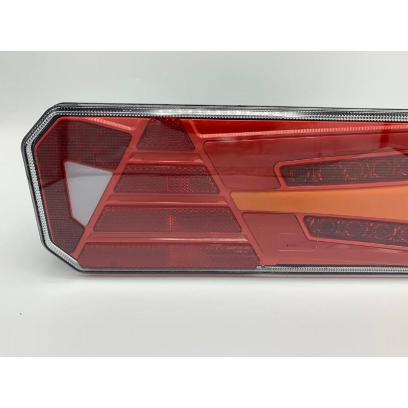 Универсальный задний фонарь с динамическим индикатором поворота LED+НЕОН 10-30V R