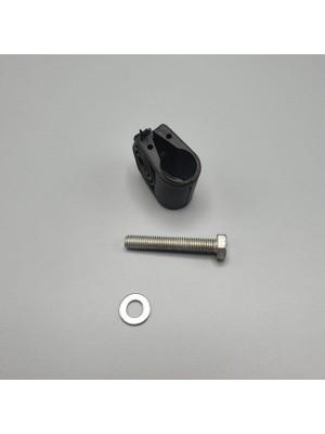 Зеркало заднего вида универсальное 370*182*64 мм (среднее) с подогревом 24В и монтажным комплектом LH=RH