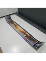 """Брызговик резиновый на задний бампер с рисунком """"ЗЕЛЕНЫЕ ГЛАЗА"""" 2400х350мм"""