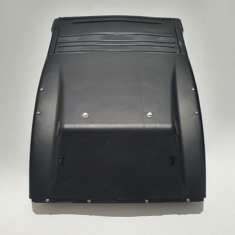 Крыло заднее DAF XF, CF с брызговиком и пластиковой защитной сеткой