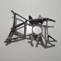 Кронштейн передней фары (металл) DAF XF E2, E3 L