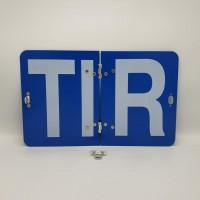 """Складная табличка """"ТIR"""" """"Международные дорожные перевозки"""" 250Х400 мм"""