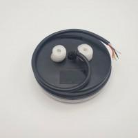 Универсальный задний фонарь диодный с динамическим индикатором поворота круглый LED + НЕОН 10-30V L