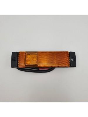 Фонарь габаритный на прицеп светодиодный Желтый 24v LED