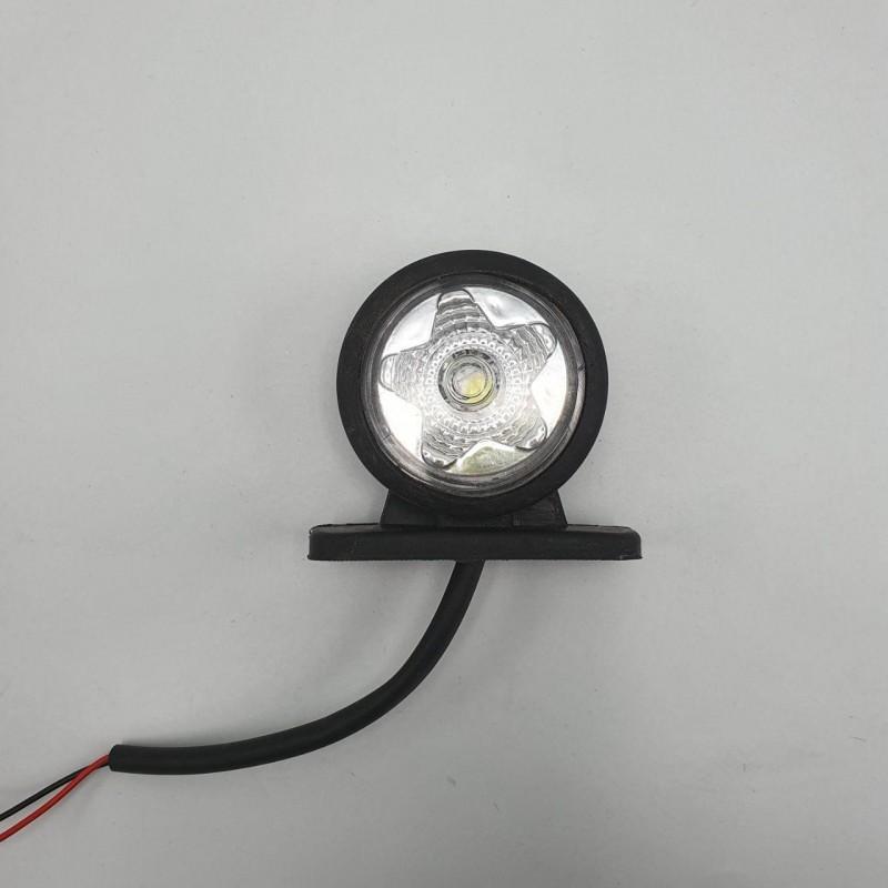 Габарит заноса прицепа двухцветный Диодный 8см LED 24v NOKTA