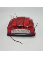 Фонарь подсветки номера на рамку диодный красный 24v CERAY