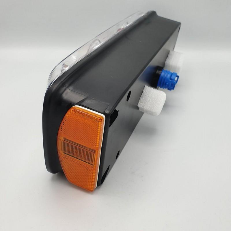 Фонарь задний на прицеп универсальный ECOSTAR III с разъёмом R