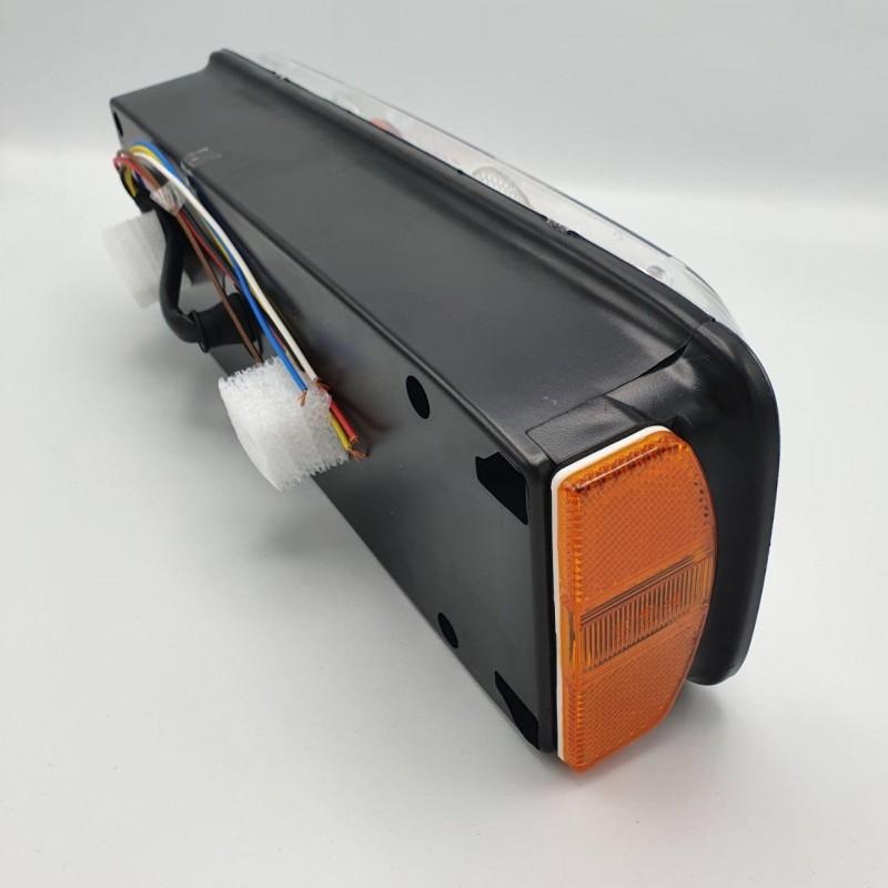 Фонарь задний на прицеп универсальный ECOSTAR III с проводами L