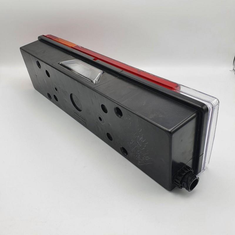 Задний фонарь с AMP фишкой та з підсвіткою номера MAN-RENAULT-DAF LH