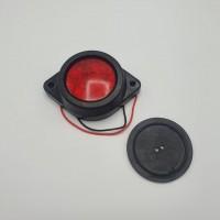 Габаритный фонарь светодиодный красный 4LED 24V