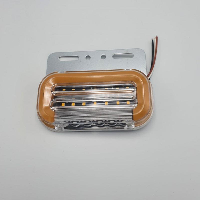 Фонарь габаритный универсальный светодиодный 24 В желтый