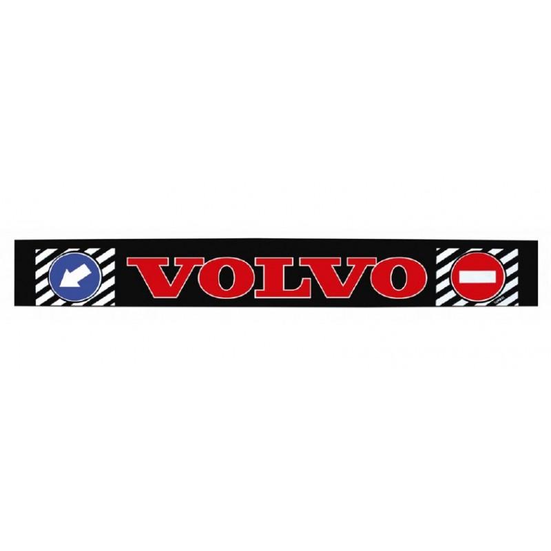 "Брызговик резиновый на задний бампер с надписью ""VOLVO"" Красного цвета 2400х350мм"