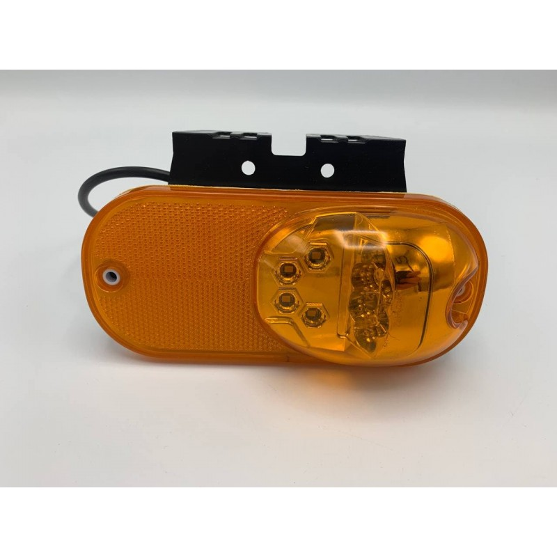 Габаритный фонарь Желтый 24v 2 стороны LED TCY