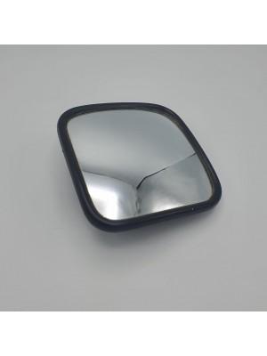 Зеркало заднего вида универсальное дополнительное сферическое 182*182*55 мм (маленькое) с подогревом 24В и монтажным комплектом LH=RH
