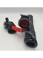 Кабель электрический полиуретан EBS 7-контактный 24V 4,5 м ALSA