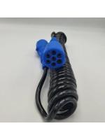 Кабель электрический полиуретан не разборной N-type 24V 4,5 м ALSA