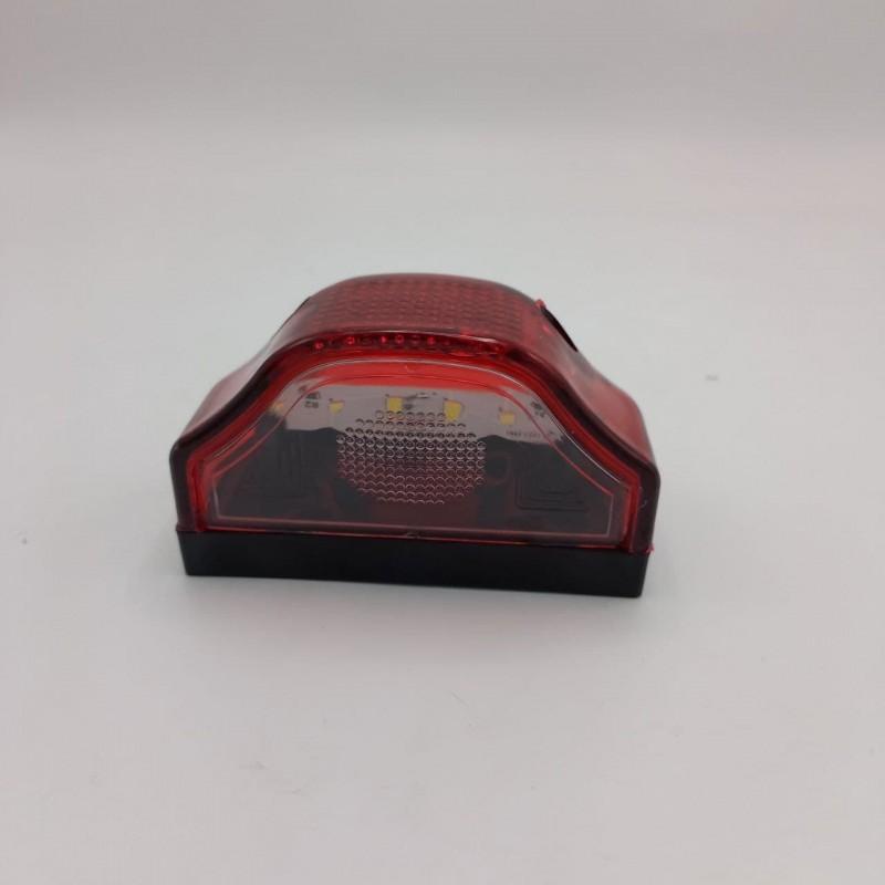 Подсветка номера LED Красная 12-24v