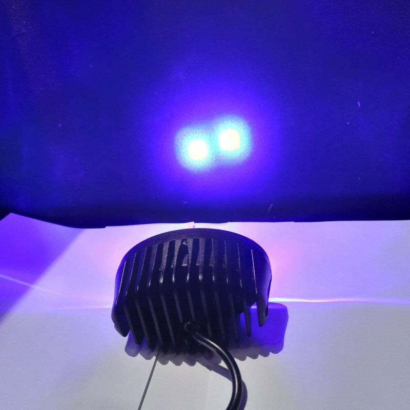 """Фара рабочая дополнительная светодиодная универсальная 10-30V 2LED """"Blue eye"""""""