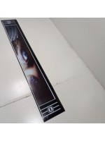 """Брызговик резиновый на задний бампер с рисунком """"СИНИЕ ГЛАЗА"""" 2400х350мм"""