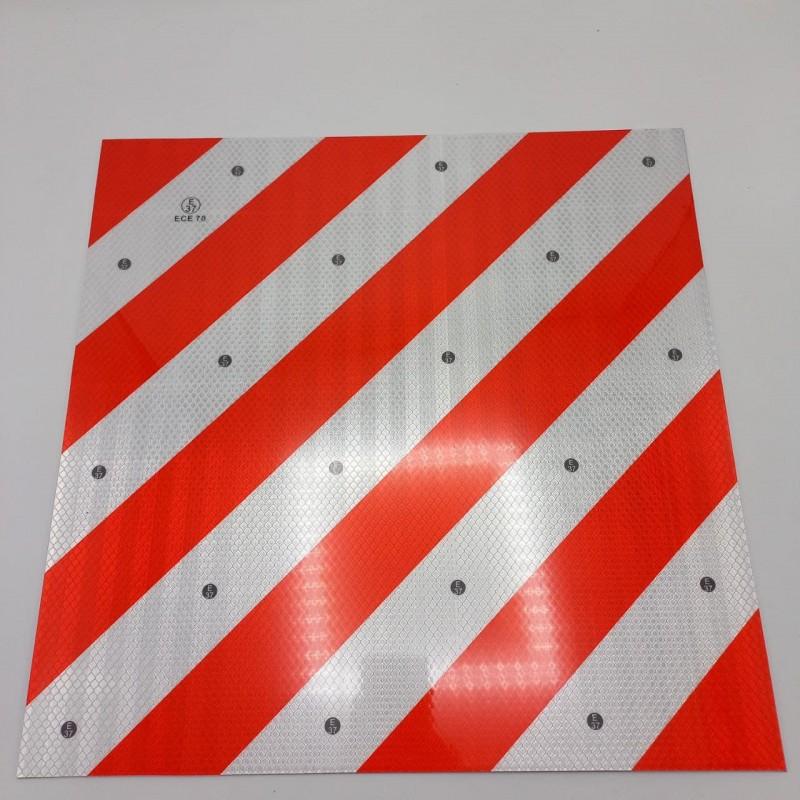 Табличка металлическая со светоотражающим покрытием 40*40см
